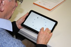 ISO 9241-9 Tablet Test