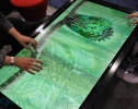Großes Multitouch Display